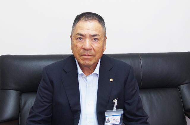 代表取締役社長 岡田信夫
